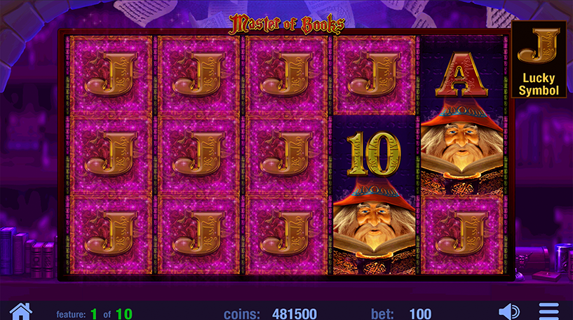 Master of Books Slot Screenshot 2