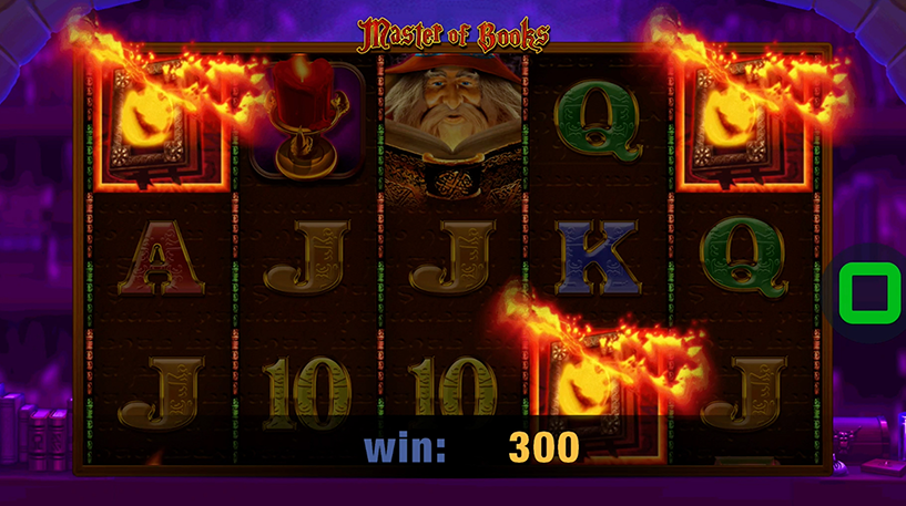 Master of Books Slot Screenshot 3