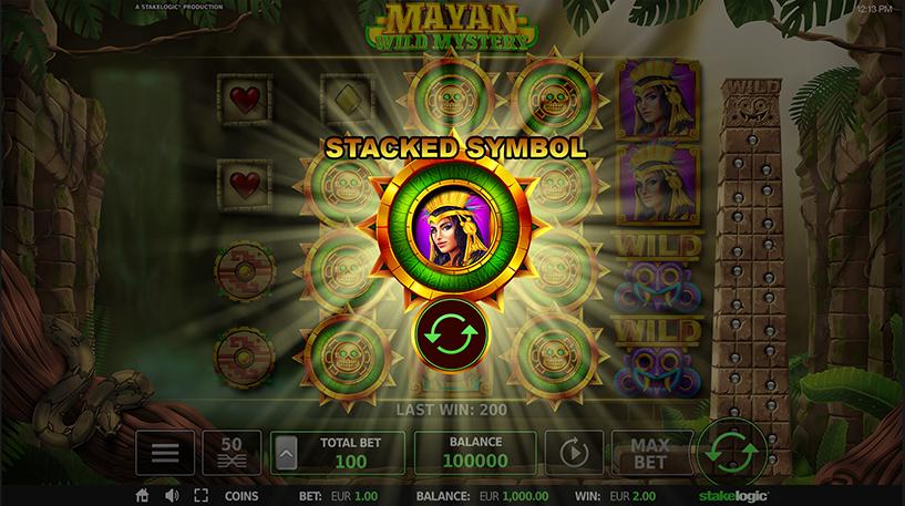 Mayan Wild Mystery Slot Screenshot 3