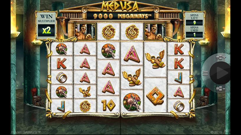 Medusa Megaways Screenshot 2