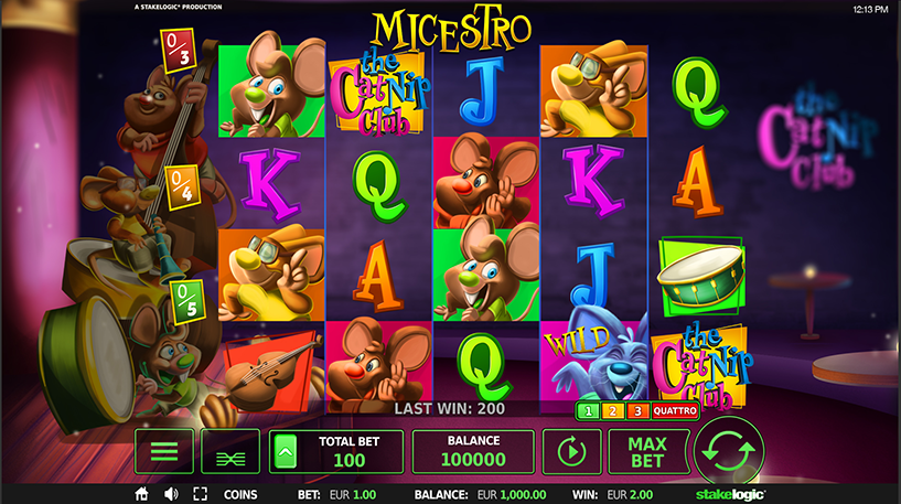 Micestro Slot Screenshot 1
