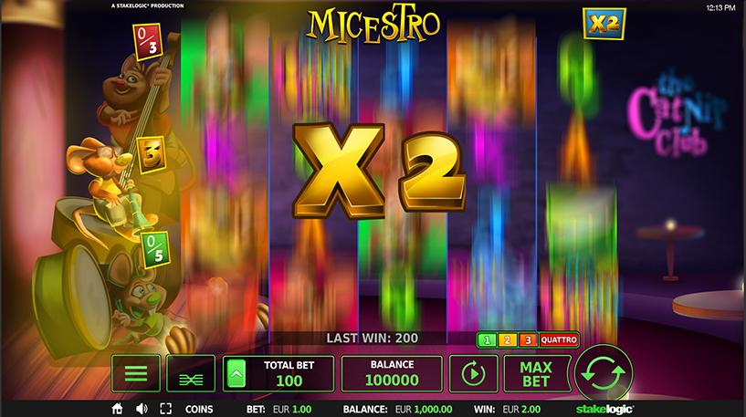 Micestro Slot Screenshot 2