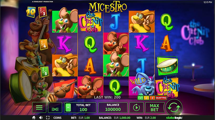 Micestro Slot Screenshot 3