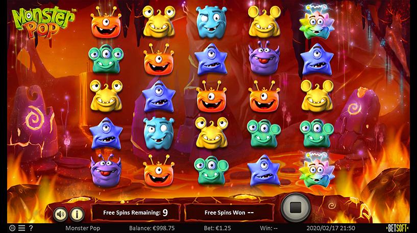 Monster Pop Slot Screenshot 3