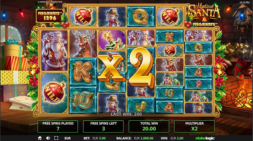 Mystical Santa Megaways Screenshot 2
