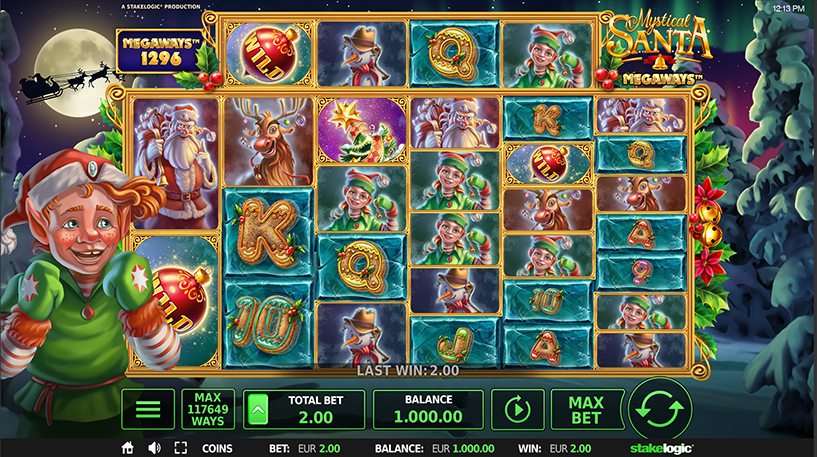 Mystical Santa Megaways Screenshot 3