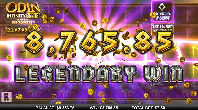 Odin Infinity Reels Megaways Screenshot 3