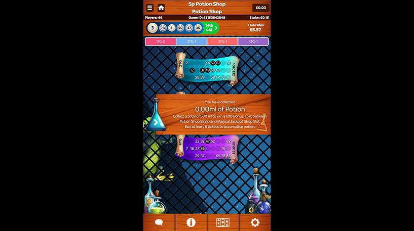 Potion Shop Bingo Screenshot 3