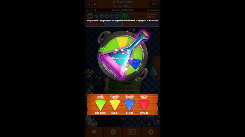Potion Shop Bingo Screenshot 1