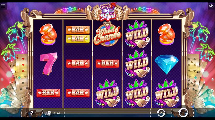 Richie in Vegas Slot Screenshot 1