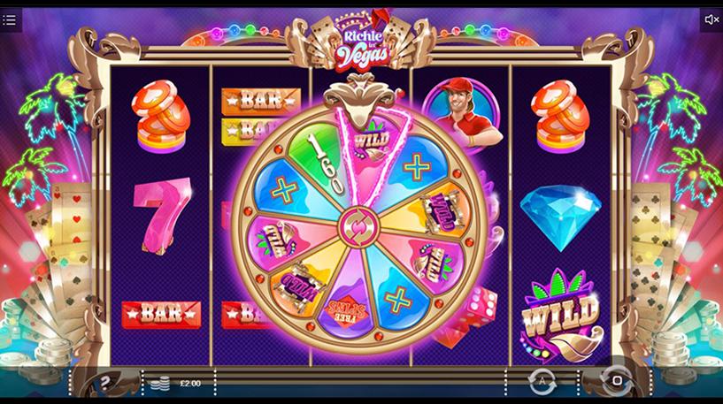 Richie in Vegas Slot Screenshot 3