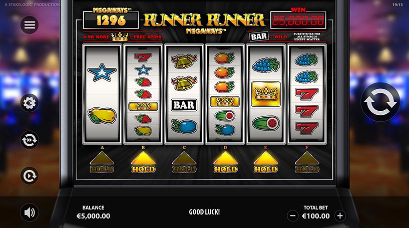 Runner Runner Megaways Screenshot 1