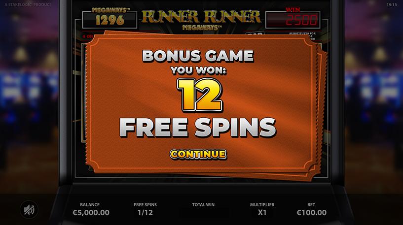 Runner Runner Megaways Screenshot 3