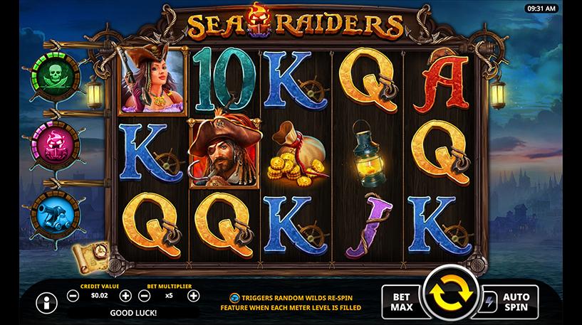 Sea Raiders Slot Screenshot 1