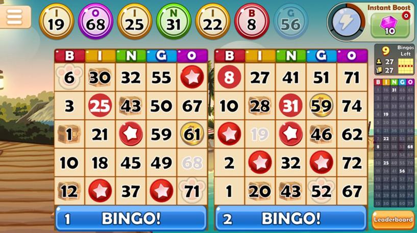 Snowball Bingo Blast Screenshot 1