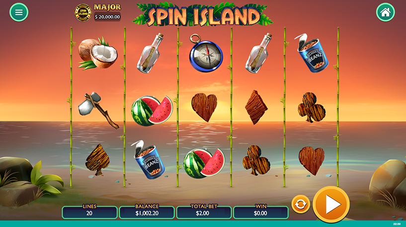 Spin Island Slot Screenshot 3