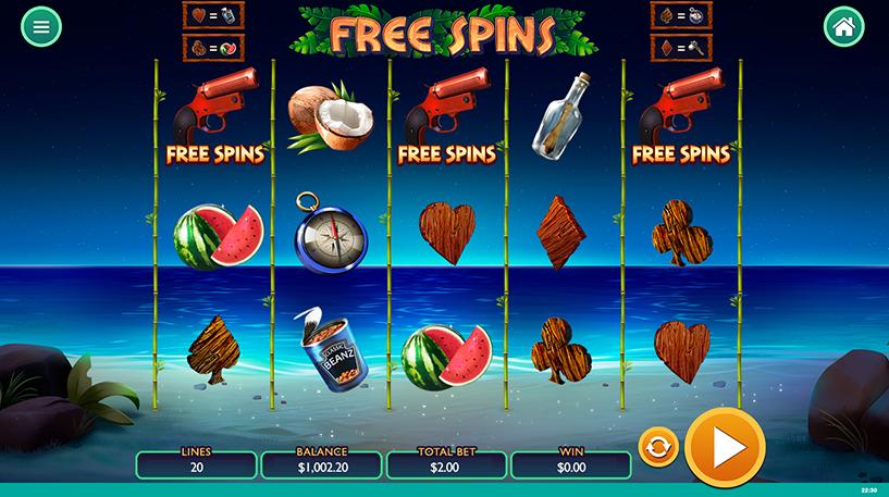 Spin Island Slot Screenshot 1