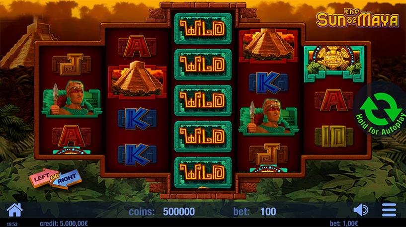 The Sun of Maya Slot Screenshot 1