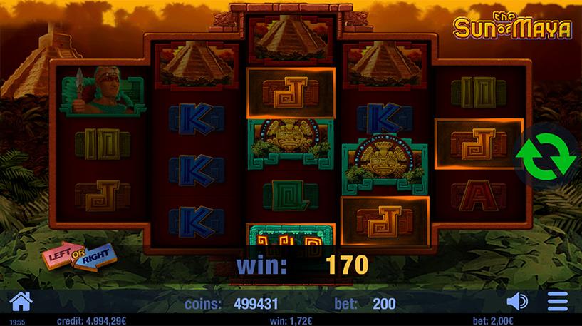 The Sun of Maya Slot Screenshot 2