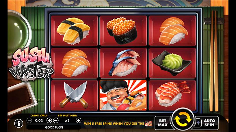 Sushi Master Slot Screenshot 1