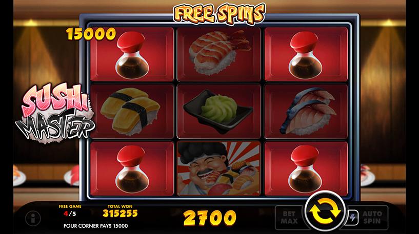 Sushi Master Slot Screenshot 3