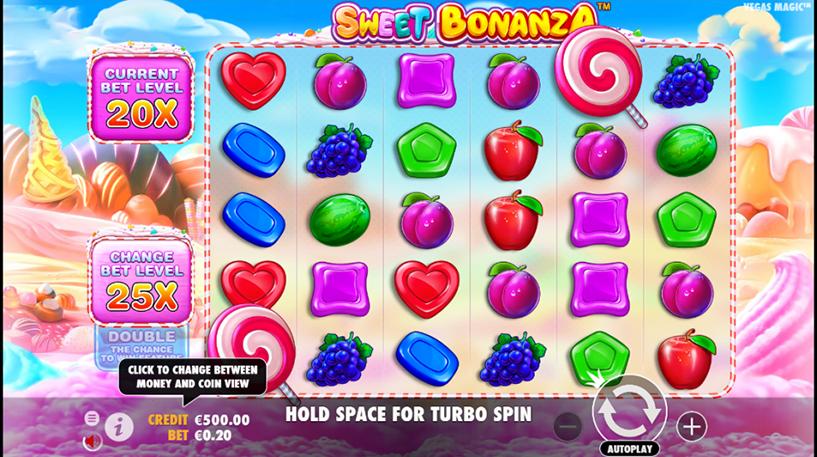 Sweet Bonanza Slot Screenshot 2