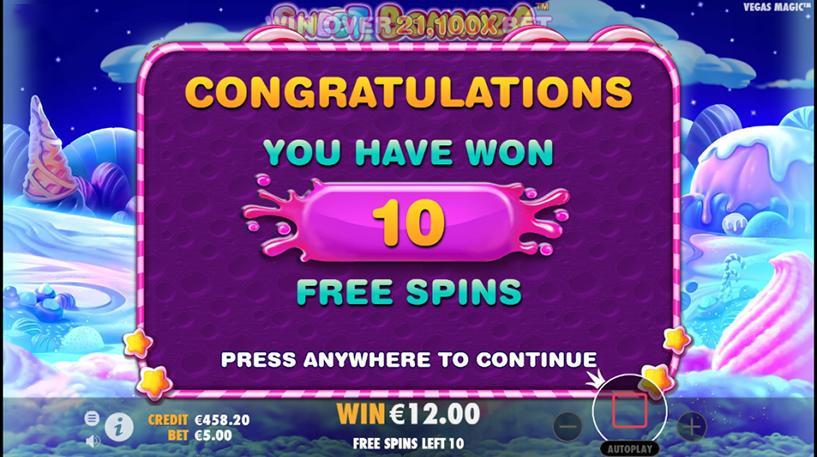 Sweet Bonanza Slot Screenshot 1