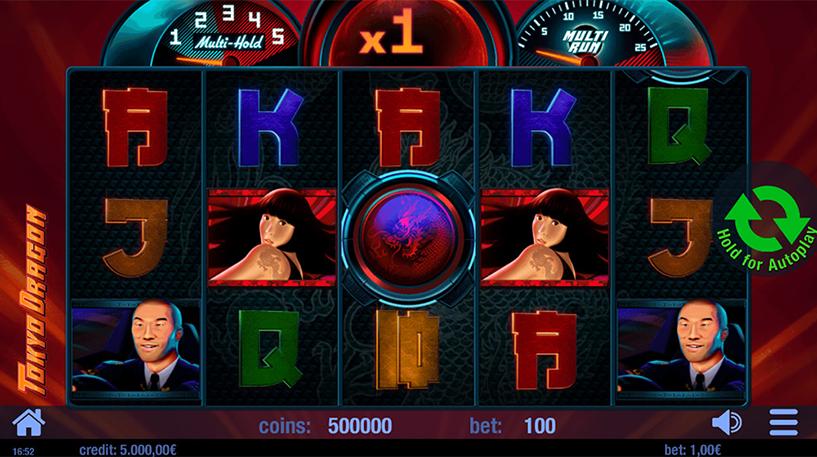 Tokyo Dragon Slot Screenshot 1