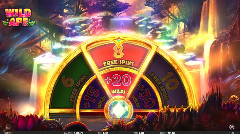 Wild Ape Slot Screenshot 2