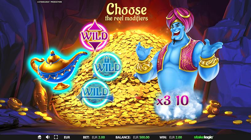 Wild Genie and the Three Wishes Slot Screenshot 3