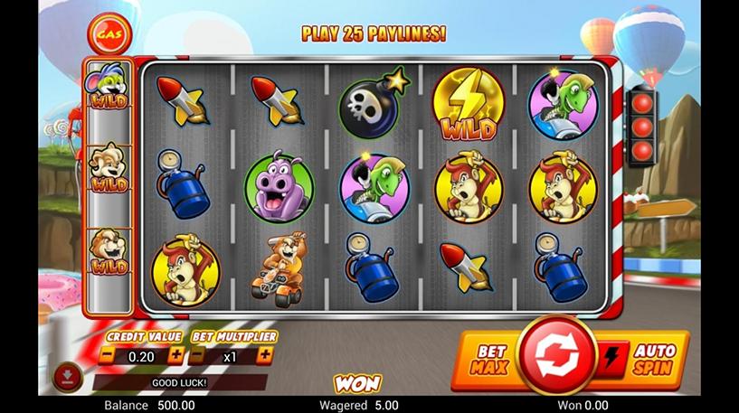 Wild Kart Racers Slot Screenshot 1