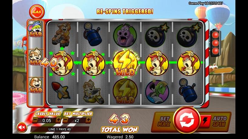 Wild Kart Racers Slot Screenshot 2