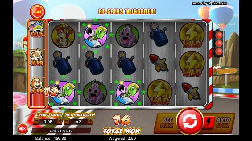 Wild Kart Racers Slot Screenshot 3