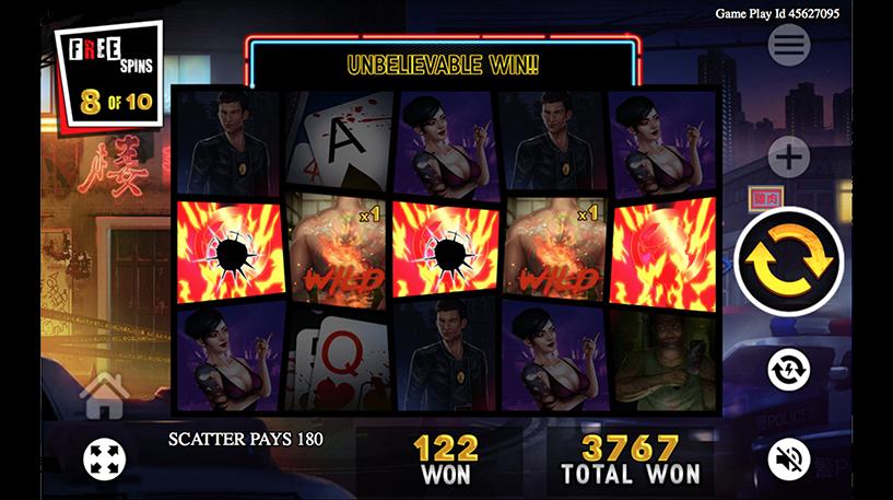Wild Triads Slot Screenshot 2