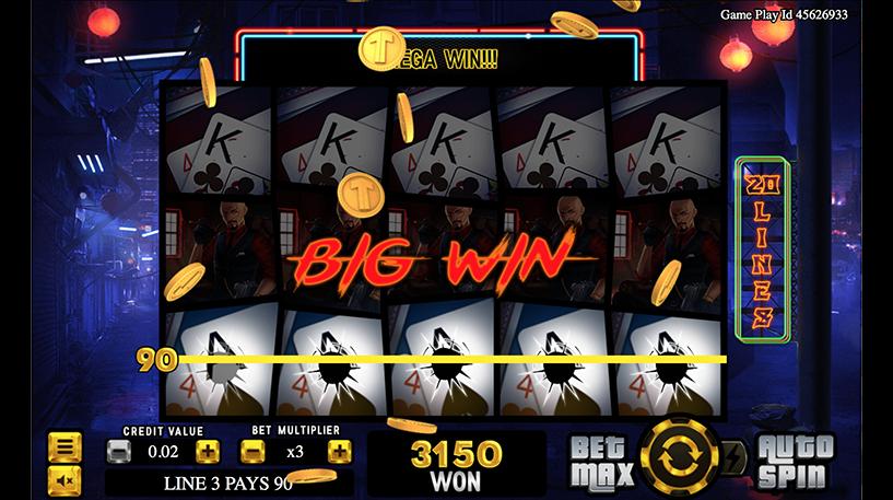 Wild Triads Slot Screenshot 3
