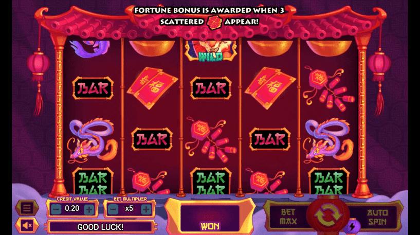 Wild Wild Tiger Slot Screenshot 1