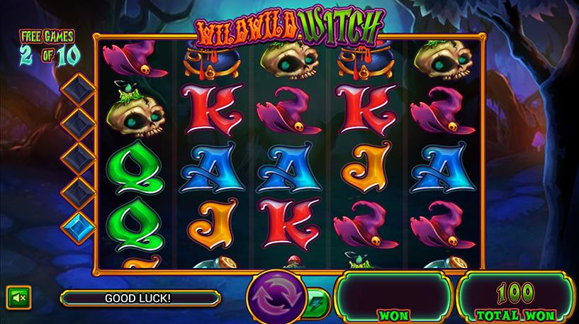 Wild Wild Witch Slot Screenshot 1
