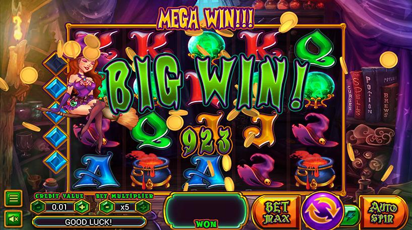 Wild Wild Witch Slot Screenshot 2