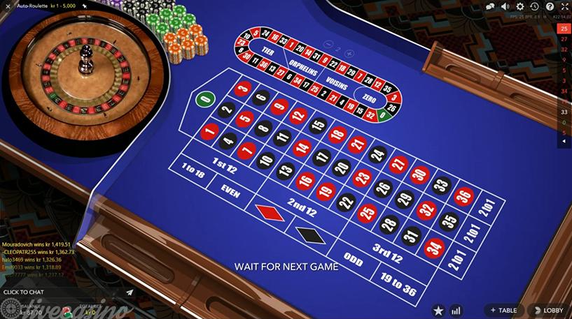 Auto Roulette Live Screenshot 1