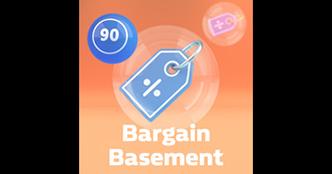 Bargain Basement Bingo