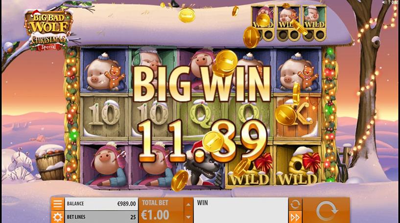 Big Bad Wolf Christmas Special Slot Screenshot 1
