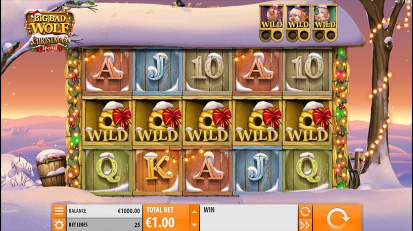 Big Bad Wolf Christmas Special Slot Screenshot 2