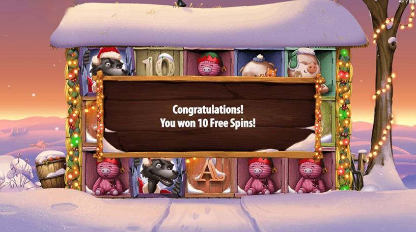 Big Bad Wolf Christmas Special Slot Screenshot 3