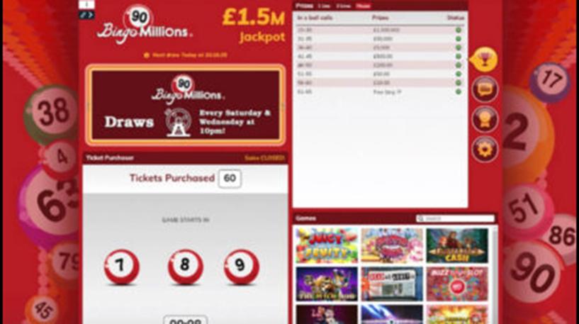 Bingo Millions 90 Ball Instant Screenshot 1