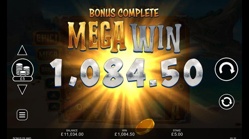Bonus Island Slot Screenshot 3