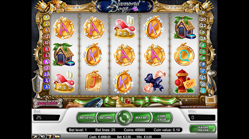 Diamond Dogs Slot Screenshot 1