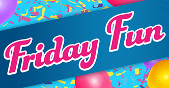 Friday Fun Bingo
