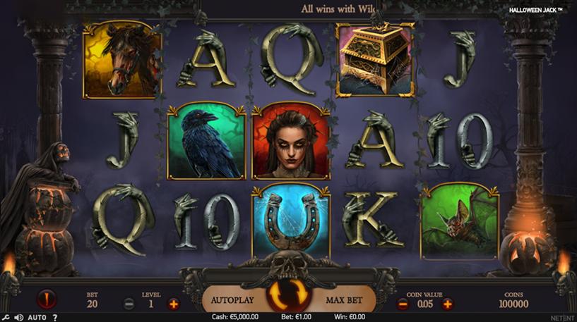 Halloween Jack Slot Screenshot 1