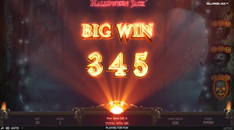Halloween Jack Slot Screenshot 2
