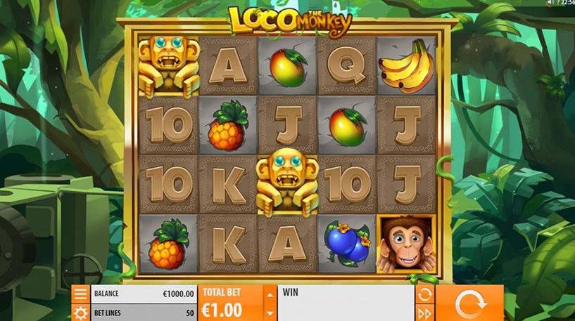 Loco The Monkey Slot Screenshot 1